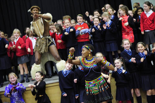 Zulu Tradition in school